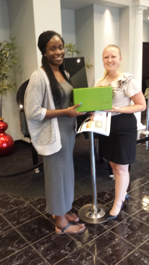DC Centre Summer Bridal Show Giveaway Winner Akeyla