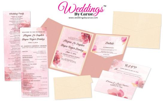 Business Spotlight: Weddings by Carue – Wedding Invitations