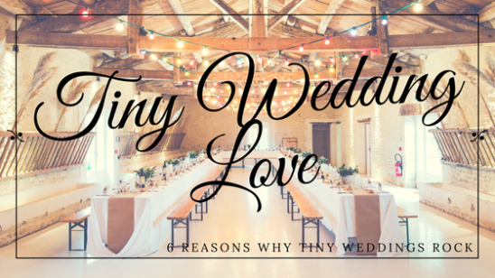 The Rise of the Tiny (Small) Wedding