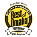 DC Centre wins the 2017 Best of Omaha Reception Venue!