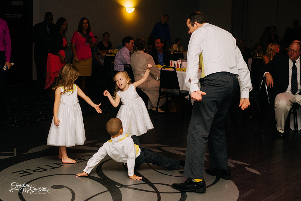 Guests Get Down on the Dance Floor