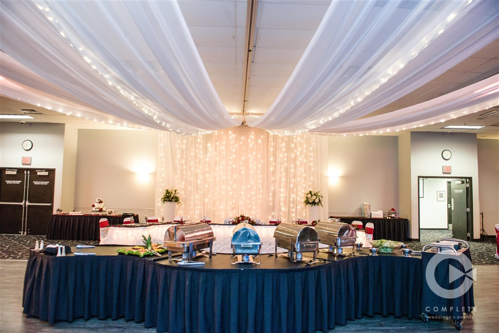Catering from DC Centre. Photography by Complete Omaha.